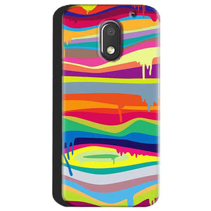 Motorola Moto E3 Power Mobile Covers Cases Melted colours - Lowest Price - Paybydaddy.com