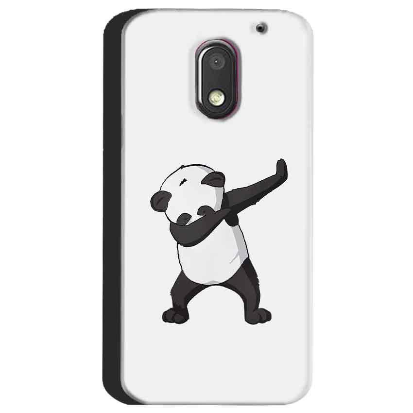 Motorola Moto E3 Power Mobile Covers Cases Panda Dab - Lowest Price - Paybydaddy.com