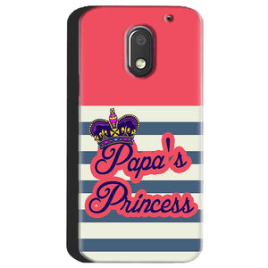 Motorola Moto E3 Power Mobile Covers Cases Papas Princess - Lowest Price - Paybydaddy.com