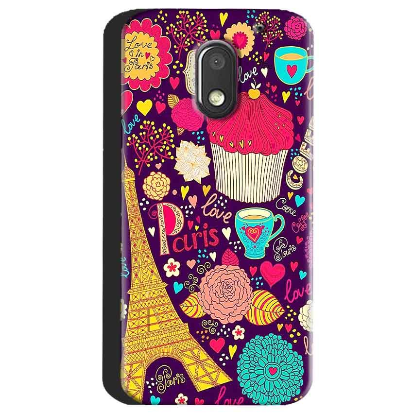 Motorola Moto E3 Power Mobile Covers Cases Paris Sweet love - Lowest Price - Paybydaddy.com