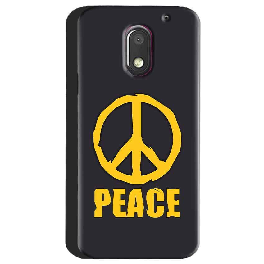 Motorola Moto E3 Power Mobile Covers Cases Peace Blue Yellow - Lowest Price - Paybydaddy.com