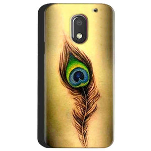 Motorola Moto E3 Power Mobile Covers Cases Peacock coloured art - Lowest Price - Paybydaddy.com