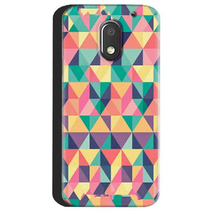 Motorola Moto E3 Power Mobile Covers Cases Prisma coloured design - Lowest Price - Paybydaddy.com