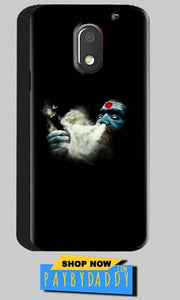 Motorola Moto E3 Power Mobile Covers Cases Shiva Aghori Smoking - Lowest Price - Paybydaddy.com