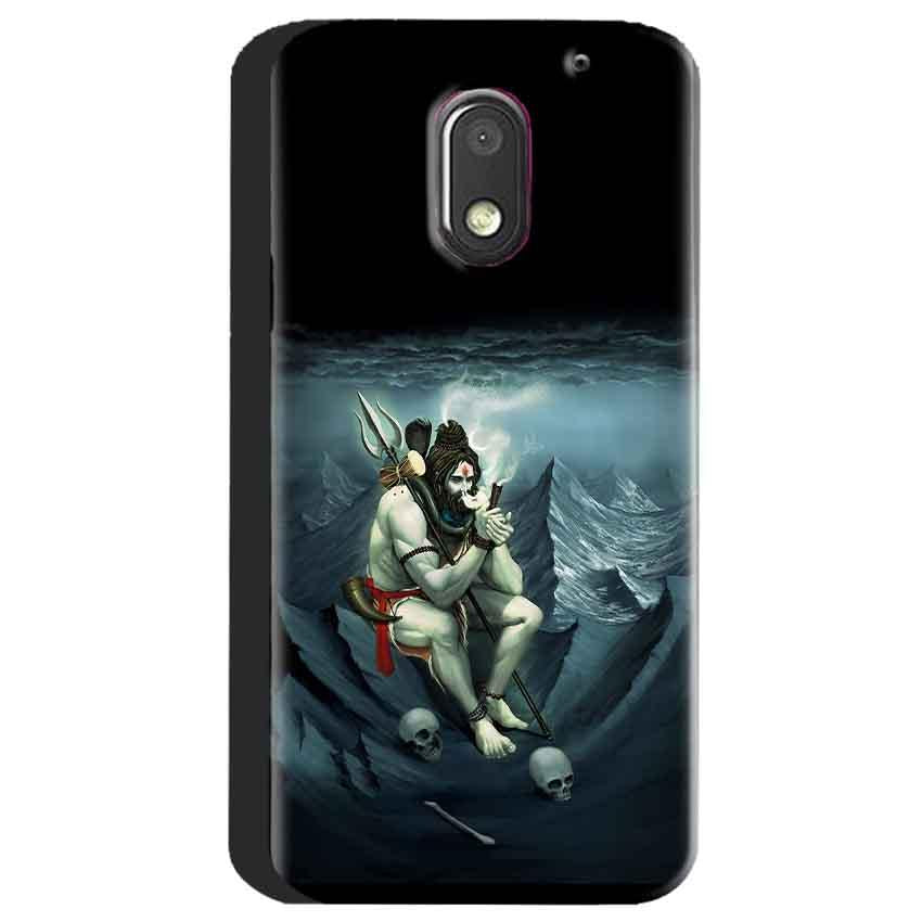 Motorola Moto E3 Power Mobile Covers Cases Shiva Smoking - Lowest Price - Paybydaddy.com