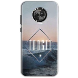 Motorola Moto E4 Mobile Covers Cases Forget Quote Something Different - Lowest Price - Paybydaddy.com