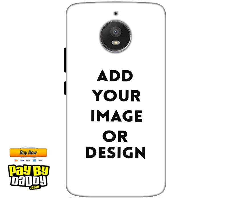 Customized Motorola Moto E4 Plus Mobile Phone Covers & Back Covers with your Text & Photo