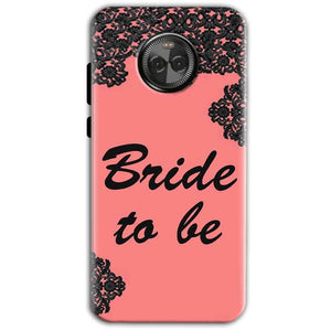 Motorola Moto E4 Mobile Covers Cases Mobile Covers Cases bride to be with ring Black Pink - Lowest Price - Paybydaddy.com