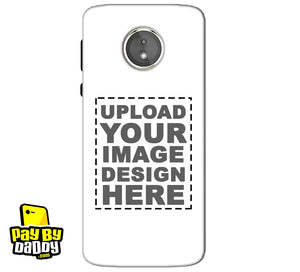 Customized Motorola Moto E5 Mobile Phone Covers & Back Covers with your Text & Photo