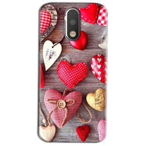 Motorola Moto G4 Play Mobile Covers Cases Hearts- Lowest Price - Paybydaddy.com