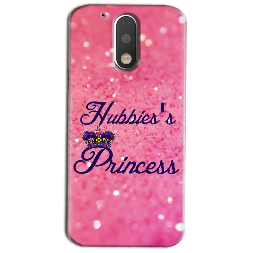 Motorola Moto G4 Play Mobile Covers Cases Hubbies Princess - Lowest Price - Paybydaddy.com