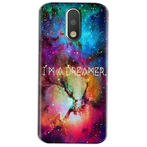 Motorola Moto G4 Play Mobile Covers Cases I am Dreamer - Lowest Price - Paybydaddy.com