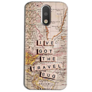 Motorola Moto G4 Play Mobile Covers Cases Live Travel Bug - Lowest Price - Paybydaddy.com