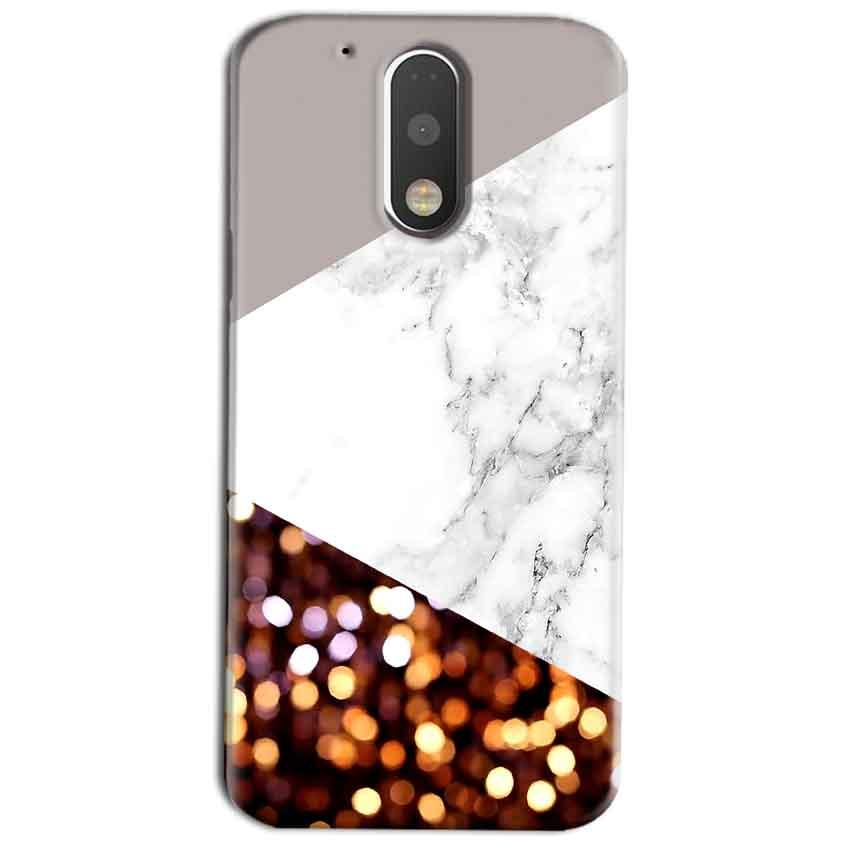 Motorola Moto G4 Play Mobile Covers Cases MARBEL GLITTER - Lowest Price - Paybydaddy.com