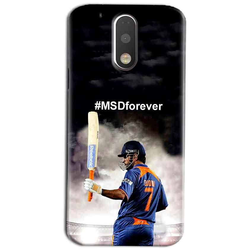 Motorola Moto G4 Play Mobile Covers Cases MS dhoni Forever - Lowest Price - Paybydaddy.com