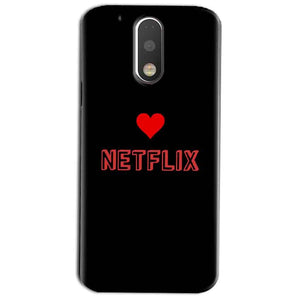 Motorola Moto G4 Play Mobile Covers Cases NETFLIX WITH HEART - Lowest Price - Paybydaddy.com