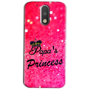 Motorola Moto G4 Play Mobile Covers Cases PAPA PRINCESS - Lowest Price - Paybydaddy.com