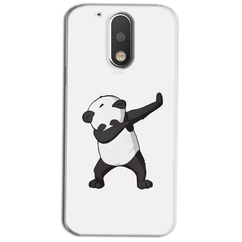 Motorola Moto G4 Play Mobile Covers Cases Panda Dab - Lowest Price - Paybydaddy.com