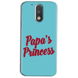 Motorola Moto G4 Play Mobile Covers Cases Papas Princess - Lowest Price - Paybydaddy.com