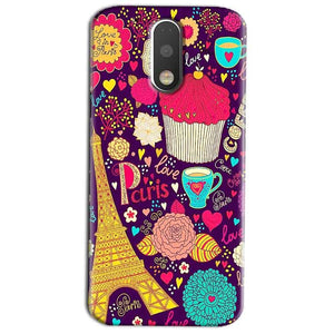 Motorola Moto G4 Play Mobile Covers Cases Paris Sweet love - Lowest Price - Paybydaddy.com