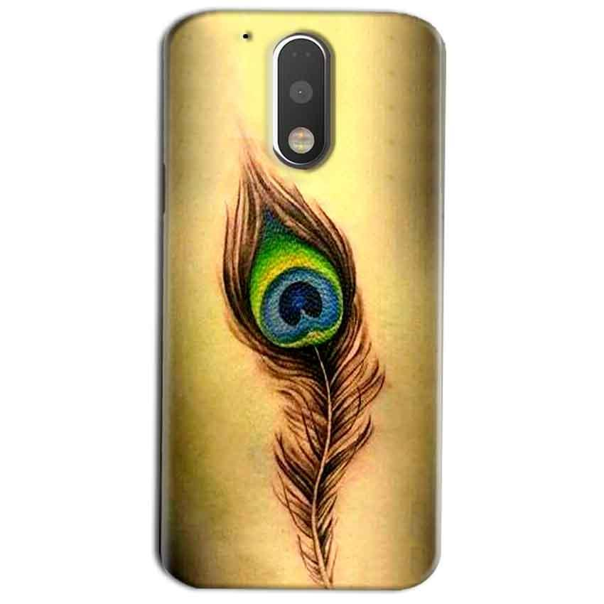 Motorola Moto G4 Play Mobile Covers Cases Peacock coloured art - Lowest Price - Paybydaddy.com