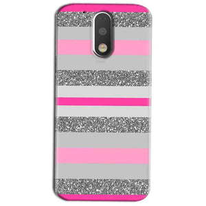 Motorola Moto G4 Play Mobile Covers Cases Pink colour pattern - Lowest Price - Paybydaddy.com
