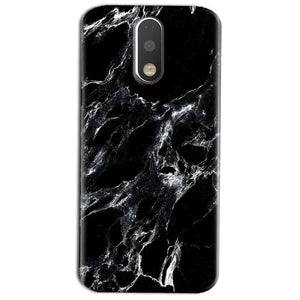 Motorola Moto G4 Play Mobile Covers Cases Pure Black Marble Texture - Lowest Price - Paybydaddy.com