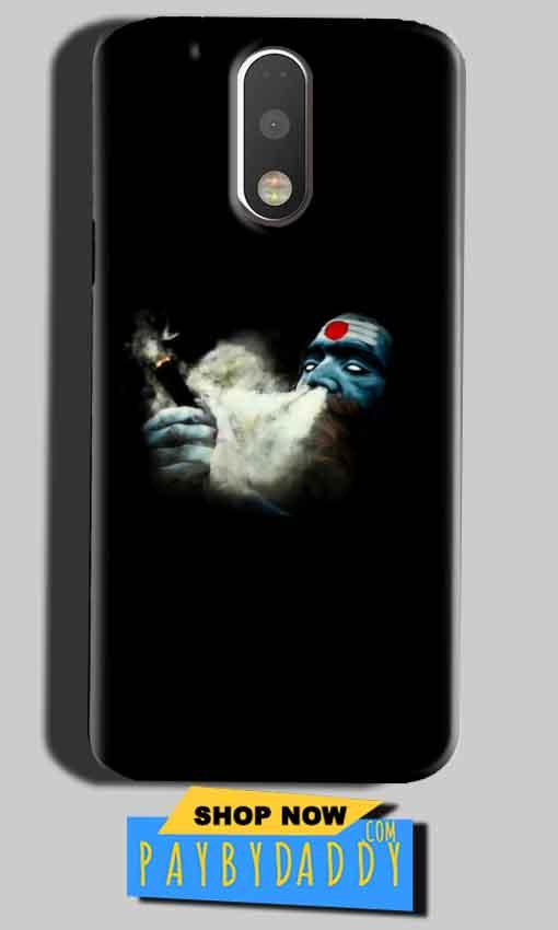 Motorola Moto G4 Play Mobile Covers Cases Shiva Aghori Smoking - Lowest Price - Paybydaddy.com