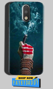 Motorola Moto G4 Play Mobile Covers Cases Shiva Hand With Clilam - Lowest Price - Paybydaddy.com