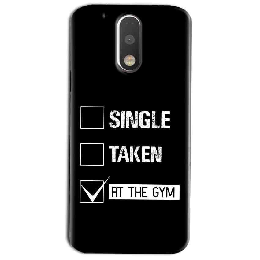 Motorola Moto G4 Play Mobile Covers Cases Single Taken At The Gym - Lowest Price - Paybydaddy.com