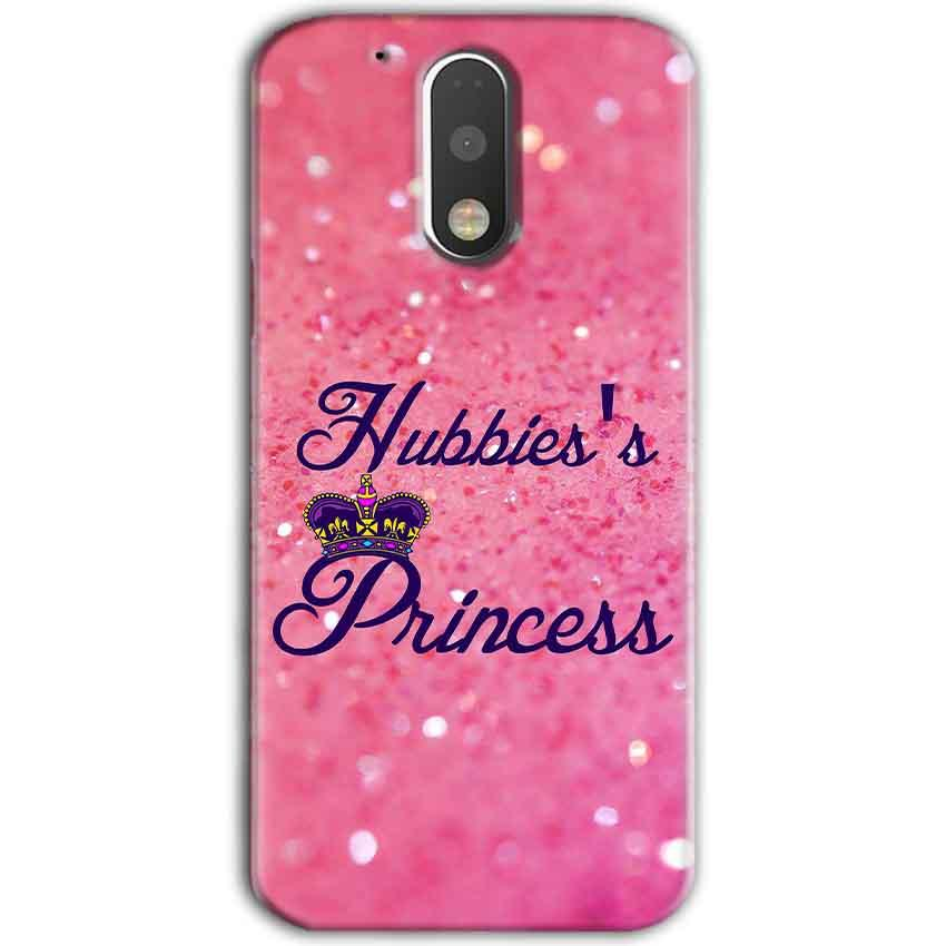 Motorola Moto G4 Plus Mobile Covers Cases Hubbies Princess - Lowest Price - Paybydaddy.com