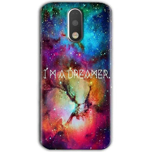 Motorola Moto G4 Plus Mobile Covers Cases I am Dreamer - Lowest Price - Paybydaddy.com