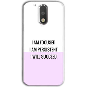 Motorola Moto G4 Plus Mobile Covers Cases I am Focused - Lowest Price - Paybydaddy.com