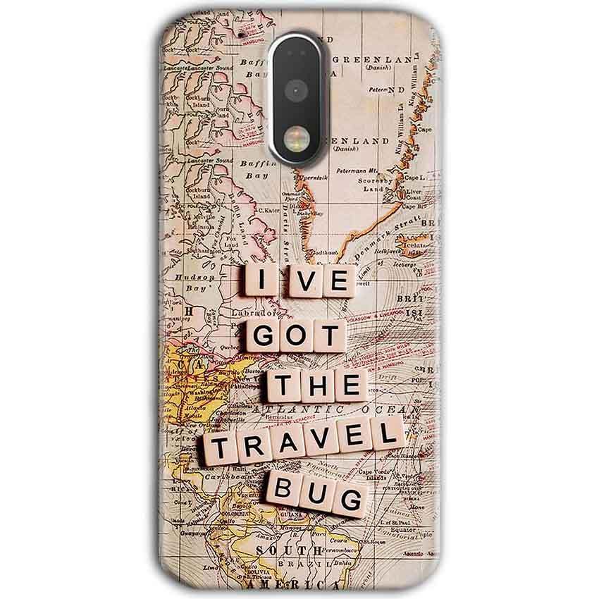 Motorola Moto G4 Plus Mobile Covers Cases Live Travel Bug - Lowest Price - Paybydaddy.com