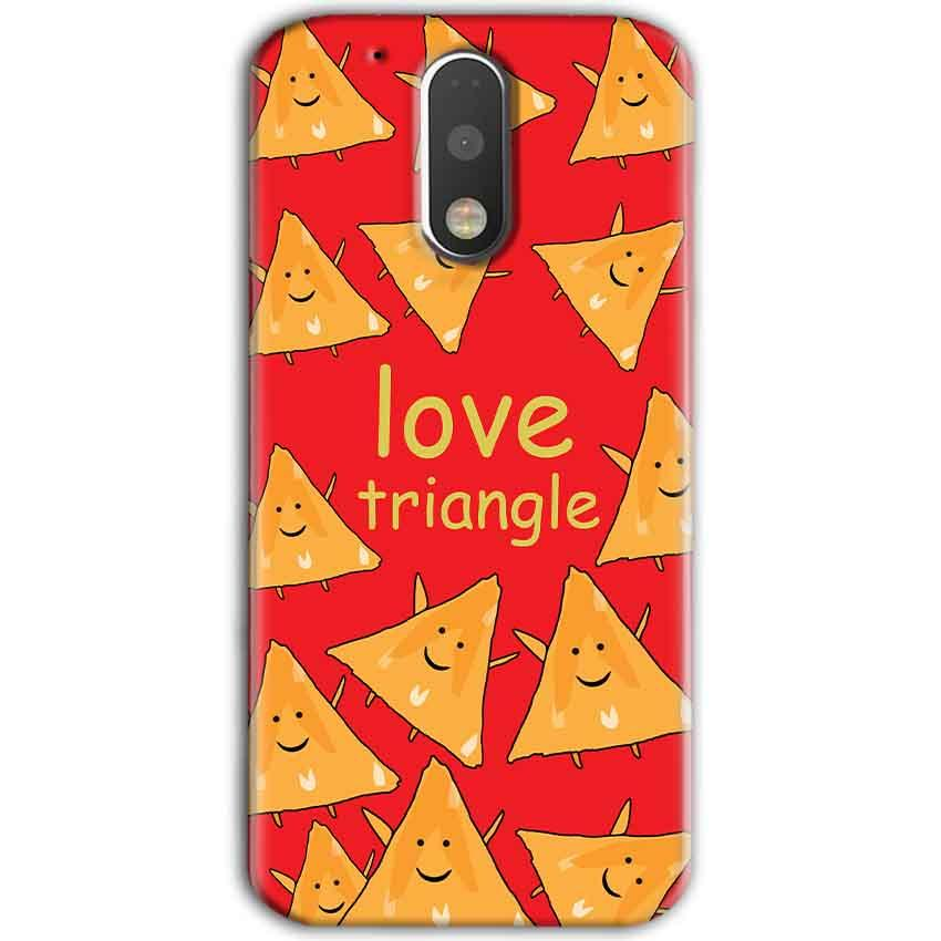 Motorola Moto G4 Plus Mobile Covers Cases Love Triangle - Lowest Price - Paybydaddy.com