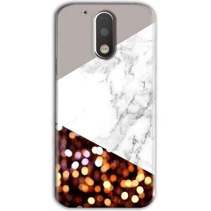 Motorola Moto G4 Plus Mobile Covers Cases MARBEL GLITTER - Lowest Price - Paybydaddy.com