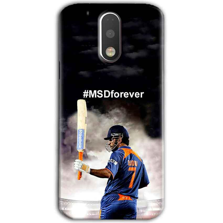 Motorola Moto G4 Plus Mobile Covers Cases MS dhoni Forever - Lowest Price - Paybydaddy.com