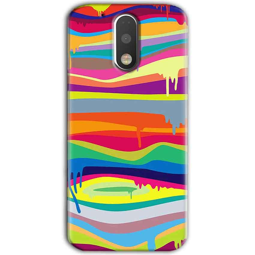 Motorola Moto G4 Plus Mobile Covers Cases Melted colours - Lowest Price - Paybydaddy.com