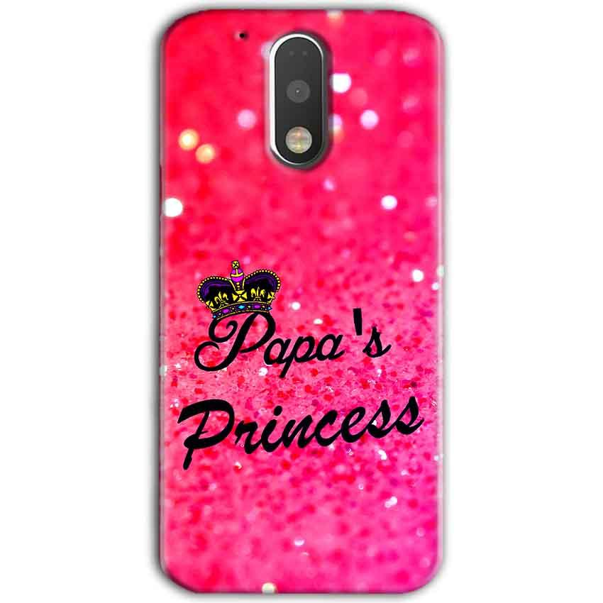 Motorola Moto G4 Plus Mobile Covers Cases PAPA PRINCESS - Lowest Price - Paybydaddy.com