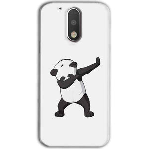 Motorola Moto G4 Plus Mobile Covers Cases Panda Dab - Lowest Price - Paybydaddy.com