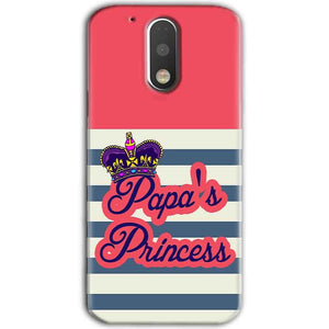 Motorola Moto G4 Plus Mobile Covers Cases Papas Princess - Lowest Price - Paybydaddy.com