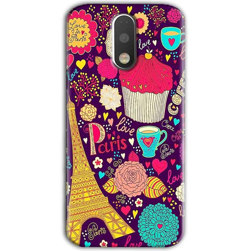 Motorola Moto G4 Plus Mobile Covers Cases Paris Sweet love - Lowest Price - Paybydaddy.com