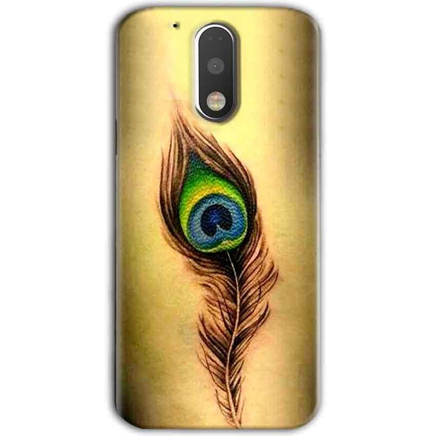 Motorola Moto G4 Plus Mobile Covers Cases Peacock coloured art - Lowest Price - Paybydaddy.com