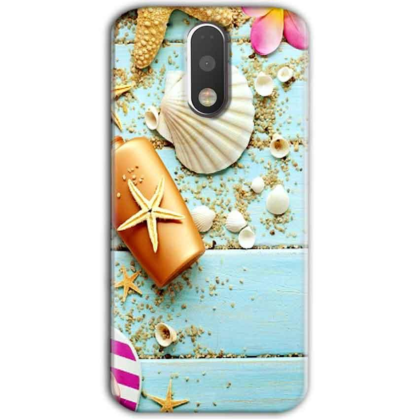 Motorola Moto G4 Plus Mobile Covers Cases Pearl Star Fish - Lowest Price - Paybydaddy.com