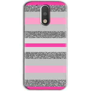 Motorola Moto G4 Plus Mobile Covers Cases Pink colour pattern - Lowest Price - Paybydaddy.com