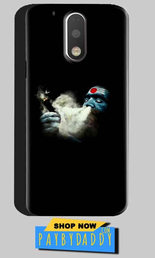 Motorola Moto G4 Plus Mobile Covers Cases Shiva Aghori Smoking - Lowest Price - Paybydaddy.com