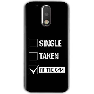 Motorola Moto G4 Plus Mobile Covers Cases Single Taken At The Gym - Lowest Price - Paybydaddy.com