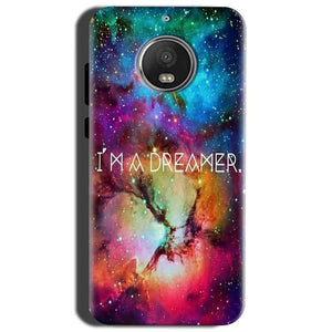 Motorola Moto G5S Mobile Covers Cases I am Dreamer - Lowest Price - Paybydaddy.com