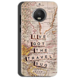 Motorola Moto G5S Mobile Covers Cases Live Travel Bug - Lowest Price - Paybydaddy.com
