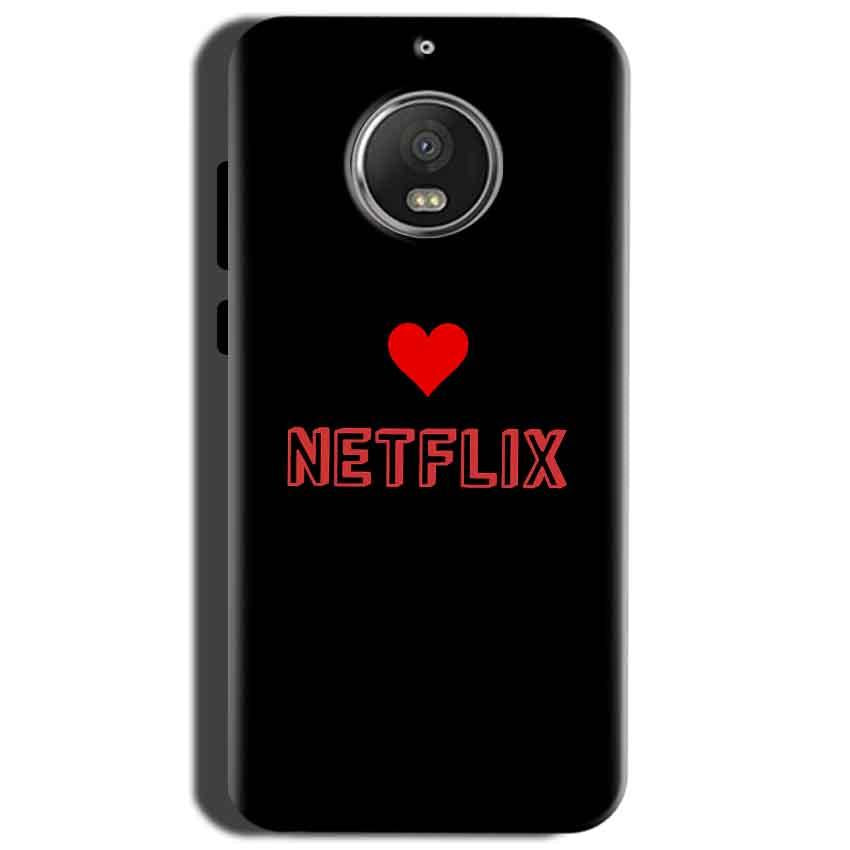Motorola Moto G5S Mobile Covers Cases NETFLIX WITH HEART - Lowest Price - Paybydaddy.com